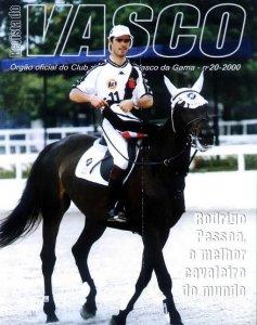 Rodrigo Pessoa (hipismo) levou medalha de bronze em 2000 (Foto: Revista do Vasco)