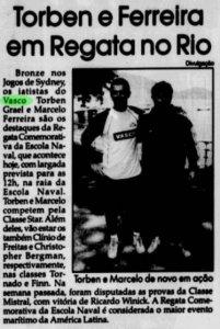 Torben Grael e Marcelo Ferreira: medalhistas olímpicos (Foto: O Fluminense)