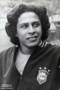 Roberto Dinamite na seleção olímpica de 1972 (Foto: Arquivo Nacional)