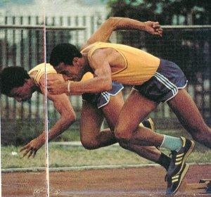 Delmo e Rui da Silva: irmãos vascaínos olímpicos (Foto: Consudatle )