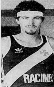 Ricardo Carvalho: atleta olímpico do Vasco em 1988 (Jornal dos Sports)