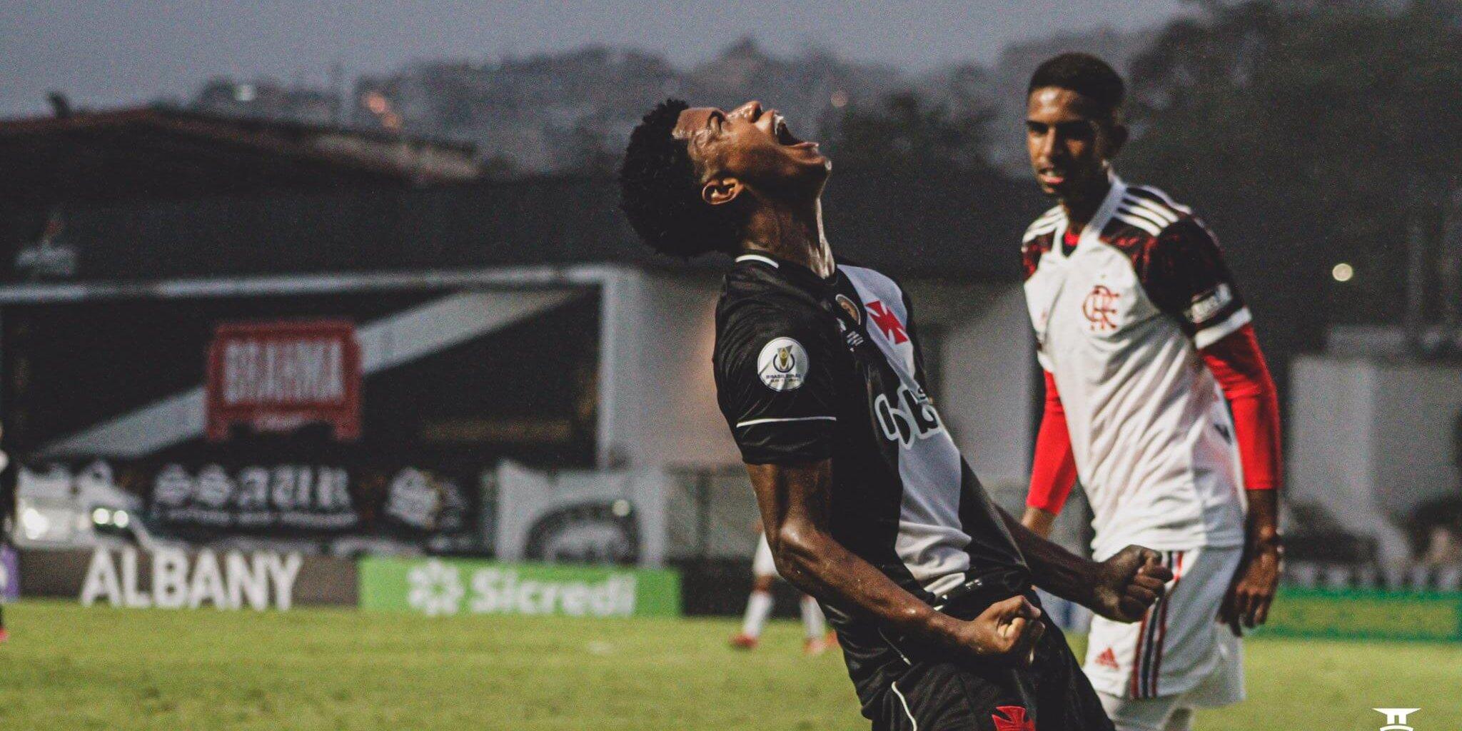 Vasco vence o Flamengo por 3x1 no Sub-17