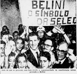 Capitão Belline tinha a idolatria da torcida vascaína (Foto: Jornal dos Sports)