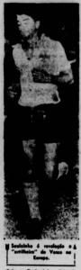 Saulzinho foi o artilheiro do Vasco na Escandinávia (Foto: Jornal dos Sports)