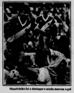 Mauricinho foi o destaque do Vasco no primeiro jogo (Foto: Jornal dos Sports)
